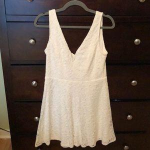 *Like New* White Lulus Skater Dress